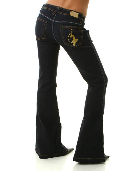 Baby phat jean the rinse wash wide leg trouser jean by baby phat