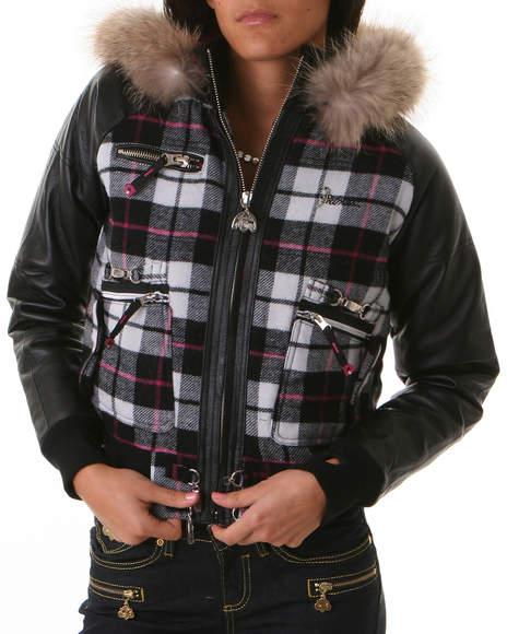 Akademiks leather jackets