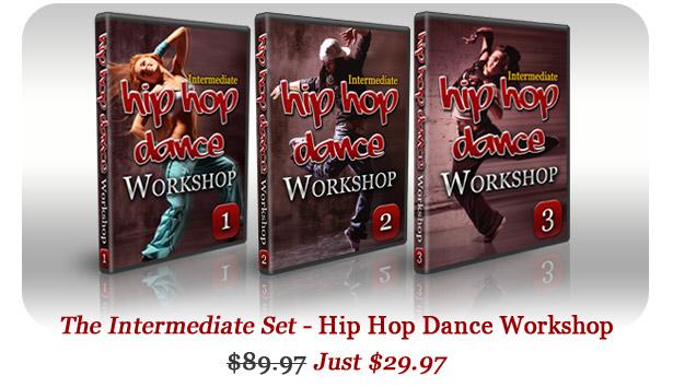 Hip Hop Intermediate Workshop Set - get it now!
